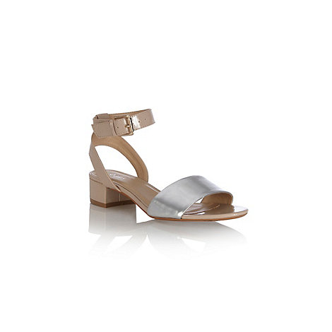 Oasis - Colourblock 2 part heel sandal
