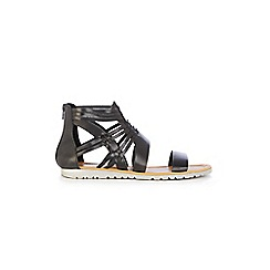 Warehouse - Black sporty gladiator