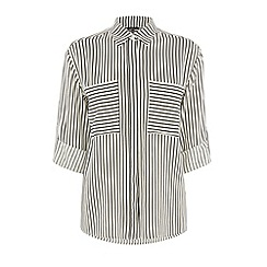Warehouse - Relaxed stripe shirt