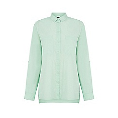 Warehouse - Cotton boyfriend shirt