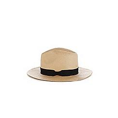 Warehouse - Beige panama hat