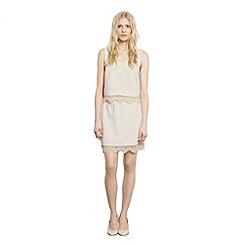 Warehouse - Lace trim skirt