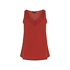 Warehouse - V neck satin front vest