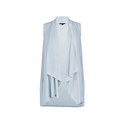 Warehouse - Sleeveless waterfall waistcoat