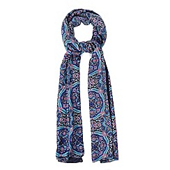 Warehouse - Cloudy floral print scarf