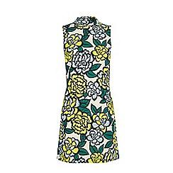 Warehouse - Floral sleeveless shift dress