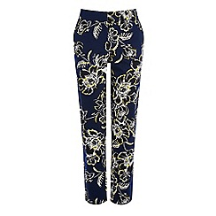 Warehouse - Giant floral tailored trouser