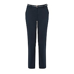 Warehouse - Belted pique trouser
