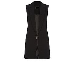 Warehouse - Metal tab detail waistcoat