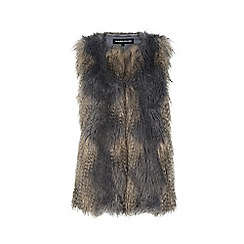 Warehouse - Faux fur gilet