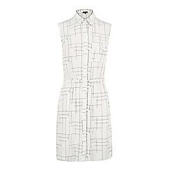 Warehouse - Check print blouse