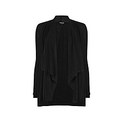Warehouse - Long sleeve waterfall cardi