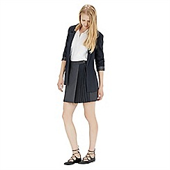 Warehouse - Crepe longline jacket