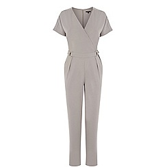 Warehouse - D-ring wrap jumpsuit