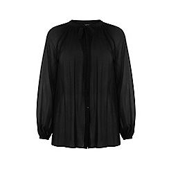 Warehouse - Pleated blouse