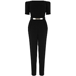 Warehouse - Off shoulder jumpsuit