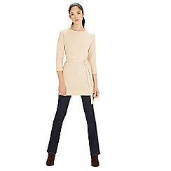 Warehouse - Knitted belted tunic