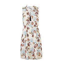 Warehouse - Floral gypsy skater dress