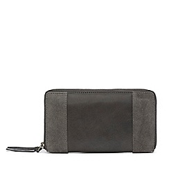 Warehouse - Suede and leather purse