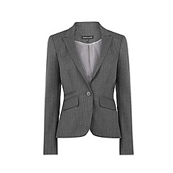 Warehouse - Pinstripe detail blazer
