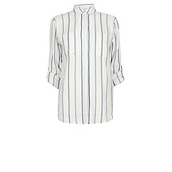 Warehouse - Light weight stripe shirt