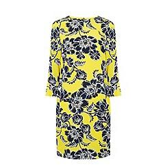 Warehouse - Floral print shift dress