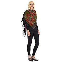 Warehouse - Paisley jacquard scarf