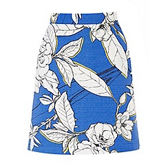 Warehouse - Impact floral pelmet skirt