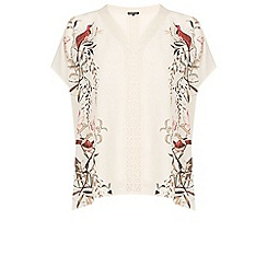 Warehouse - Placement bird kaftan top
