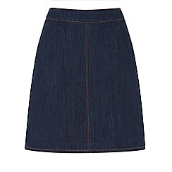 Warehouse - Denim pelmet skirt