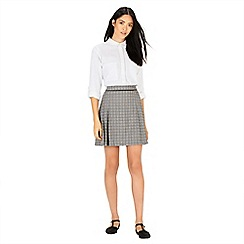 Warehouse - Checked tailored skirt