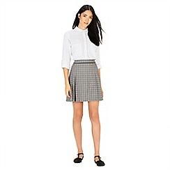 Warehouse - Checked tailored skirt