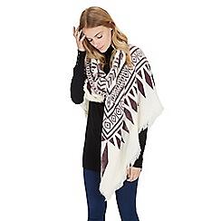 Warehouse - Aztec blanket scarf