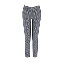 Warehouse - Geo diamond jacquard trouser