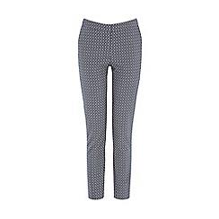 Warehouse - Geo diamond jacquard trouser