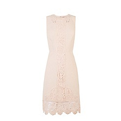 Warehouse - Lace detail shift dress