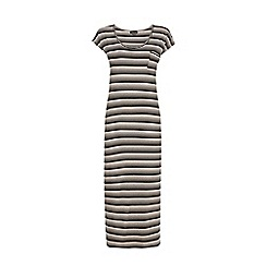 Warehouse - Stripe midi tee shirt dress