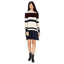 Warehouse - Stripe swing dress