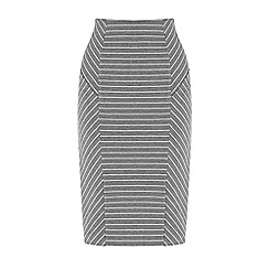Warehouse - Pin stripe pencil skirt
