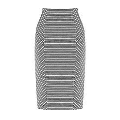 Warehouse - Pin stripe pencil skirt