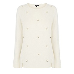Warehouse - Dragonfly embellished jumper