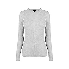 Warehouse - Fashioned rib crew jumper