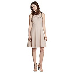 Warehouse - Embellished cut out dress