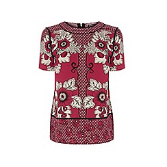 Warehouse - Tile floral t shirt