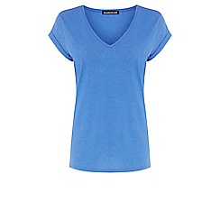 Warehouse - V neck boyfriend tee