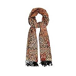 Warehouse - Bright paisley oversized scarf