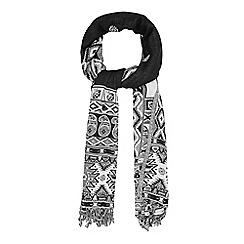 Warehouse - Aztec lightweight scarf