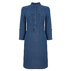 Warehouse - Tencel shirt dress