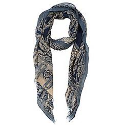 Warehouse - Bandana print scarf