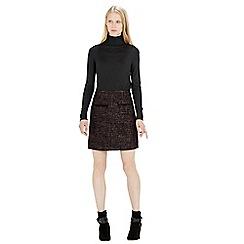 Warehouse - Tweed pocket detail skirt